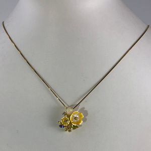Flowers for Your Valintine Pentant & Necklace